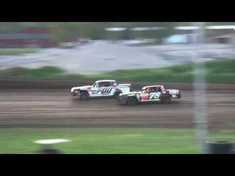 IMCA Hobby Stock Heats Marshalltown Speedway 5/26/17