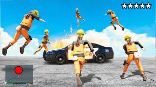 Playing As ANY HERO in GTA 5! (GTA 5 Mods) Naruto, Spider-man, Batman, Flash, Goku