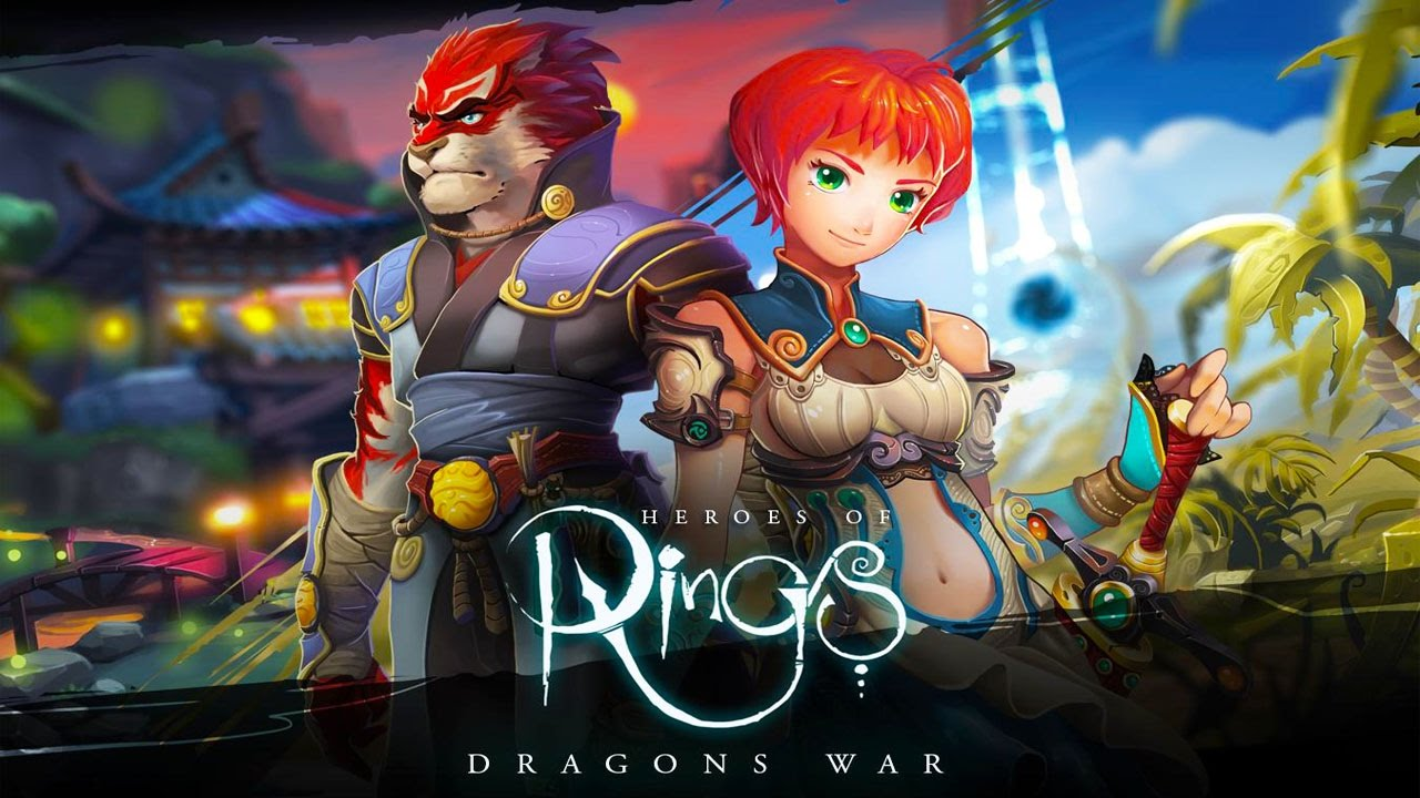 Heroes of Rings: Dragons War Android Gameplay u1d34u1d30