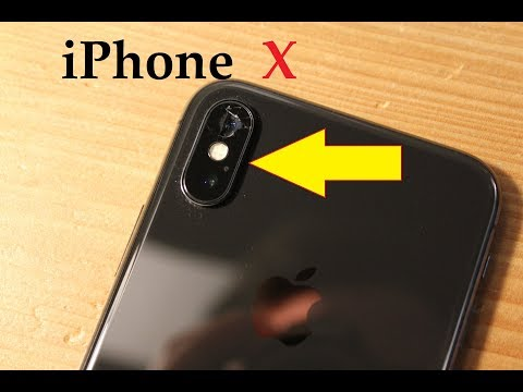 iPhone X : How to replace CAMERA GLASS