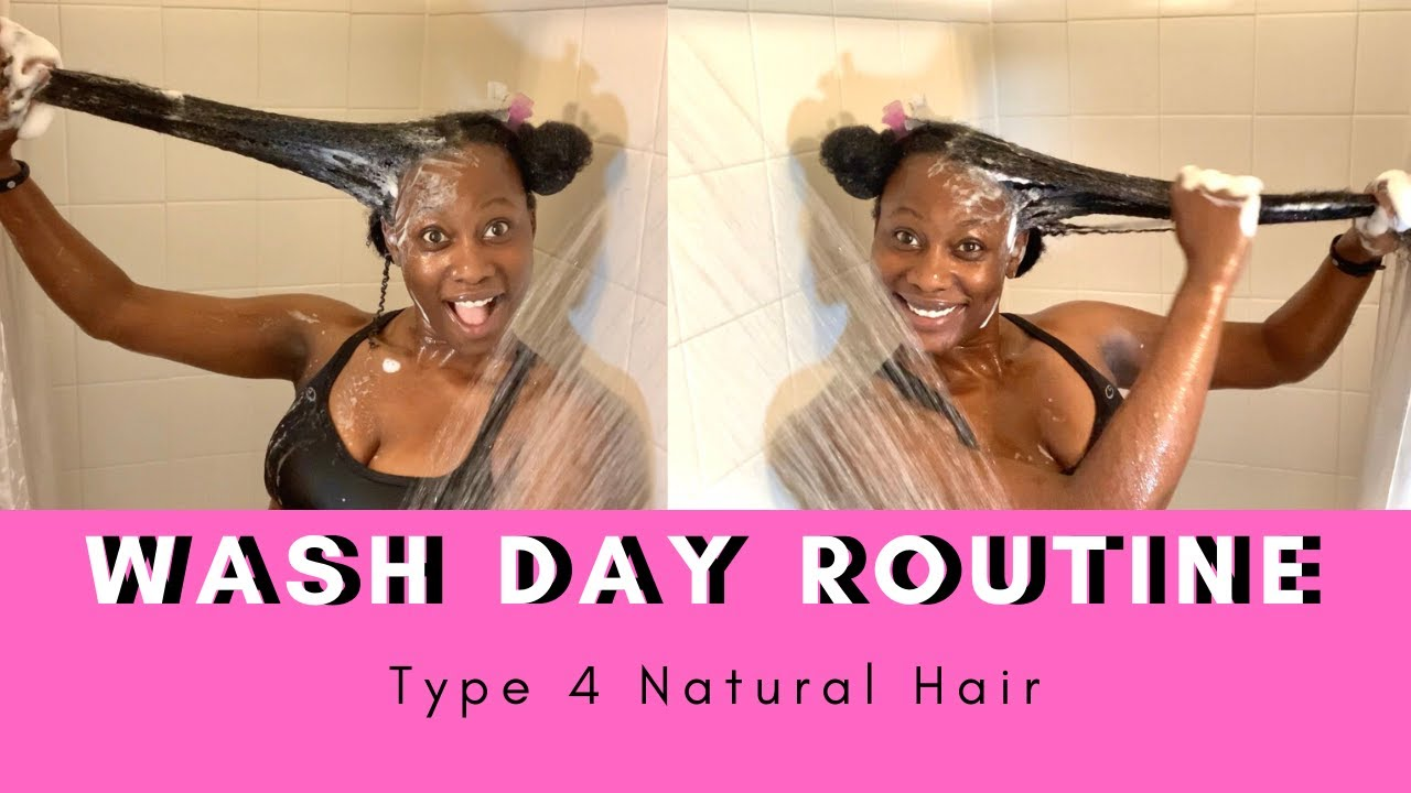 WASH DAY ROUTINE | Start to Finish | Type 4 Natural Hair