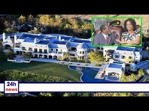 Grace, Robert Mugabe reportedly 'too depressed' at 'Blue Roof'
