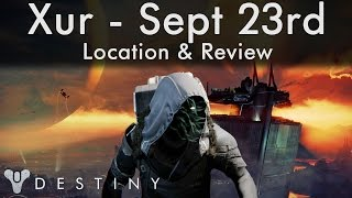 where is xur sept 23rd location inventory 23 9