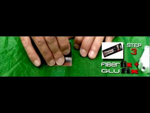 & KiteFix - Canopy / Ripstop repair video tutorial - YouTube