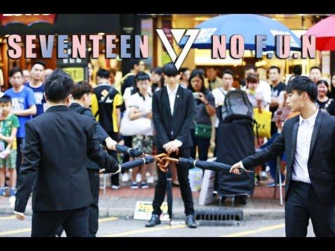[KrazyHK]170520 SEVENTEEN(세븐틴) ANNIVERSARY SHOWCASE - (NO F.U.N) Cover Dance HK@Mongkok Flashmob