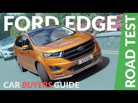 Ford Edge 2017 Review