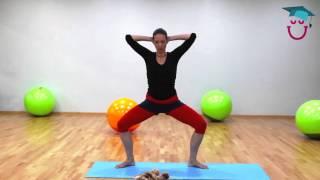 Урок 2 Фитнес Мама + Малыш! Упражнения для красивых ног