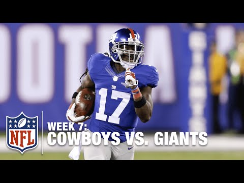 Dwayne Harris Rockets Up the Middle for a 100-Yard Kickoff Return TD! | Cowboys vs. Giants | NFL