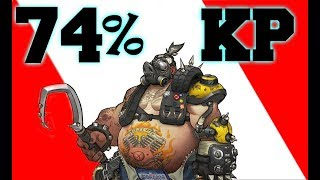 Grand Master Overwatch CARRY - 74% Kill Participation