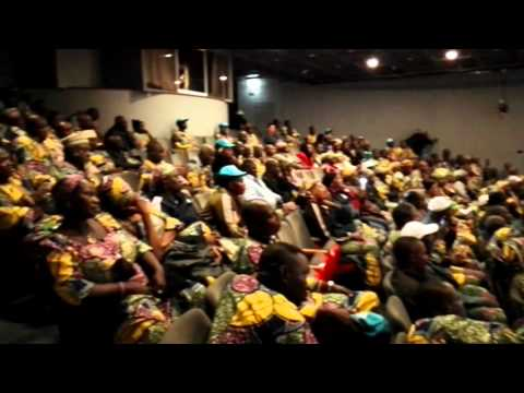 Senator Ordia Clifford  at the Jerusalem Pilgrim Ceremony of Bauchi State Pilgrims from Nigeria.