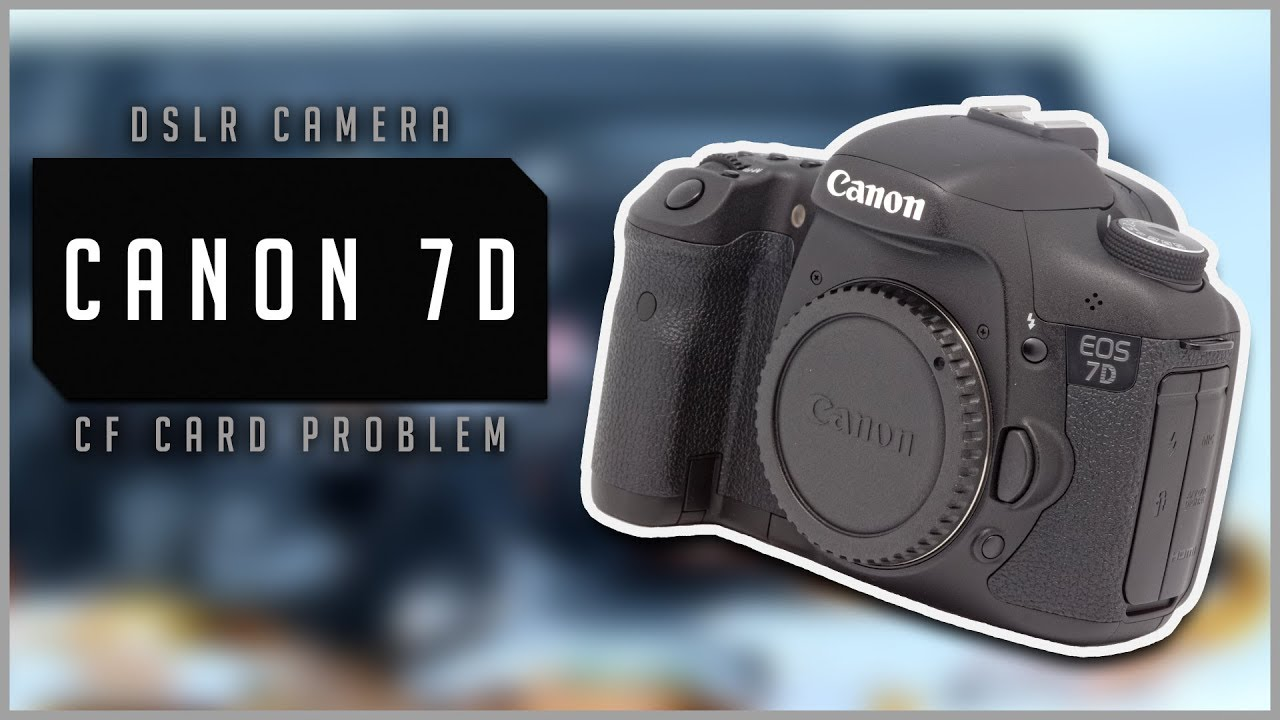 How to repair DSLR Canon 7D - CF card slot problem(missing pins ...