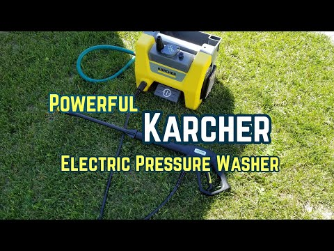 Karcher K1710 Cube Electric Pressure Washer - Unboxing and actual use