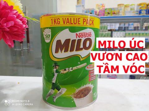 Vlog 167 Sữa MILO Úc lựa chọn hàng đầu cho trẻ phát triển thể chất và vươn cao tầm vóc.