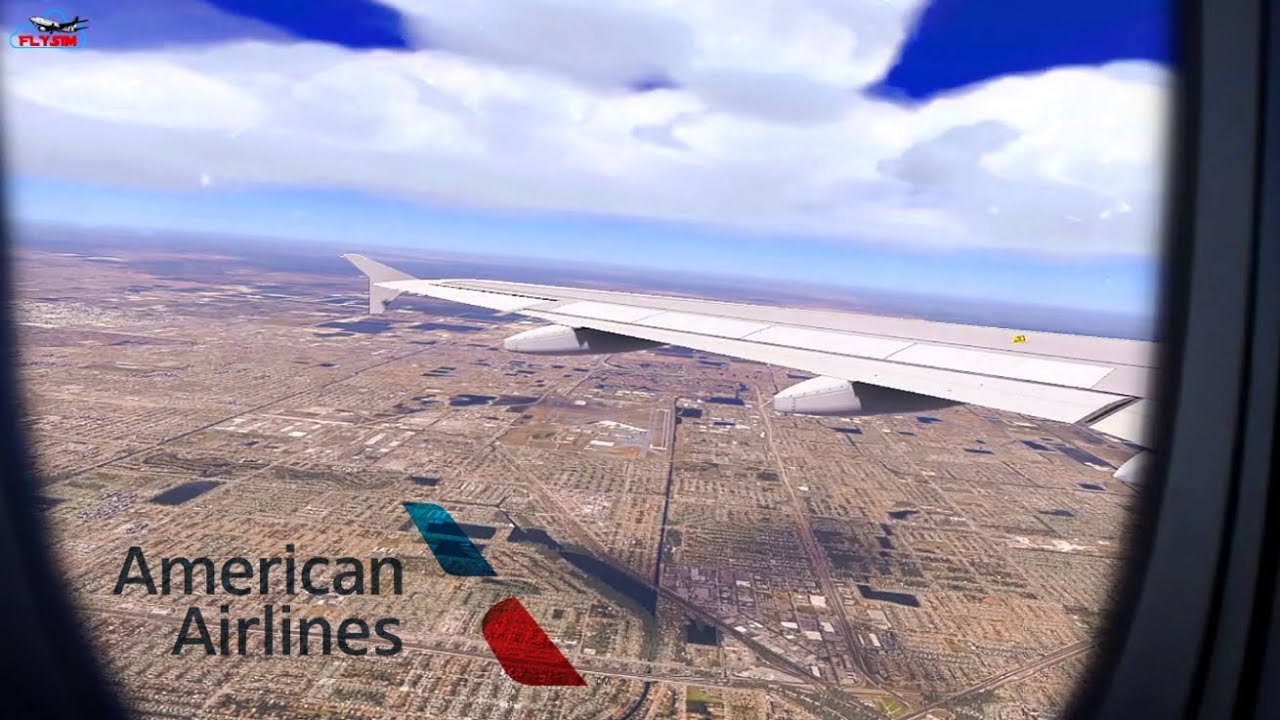 American Airlines A320 Takeoff From Miami Airport in Realistic X-Plane 11!  by Fly Sim