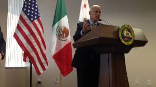 Jerry Brown on Mexico
