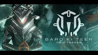 Full Kavat Armor! - Baro Breakdown PC/Console 12/29/17