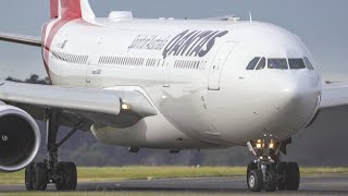 Plane Spotting at Melbourne Airport   Runway 27 Aircraft Arrivals