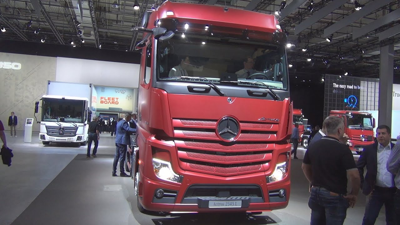 Mercedes-Benz Actros 2545 L 6x2 Chassis Truck (2019) Exterior and Interior