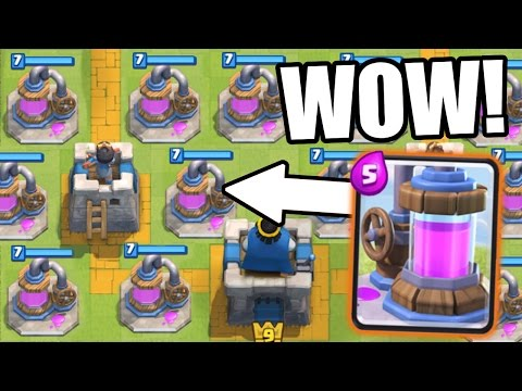 Clash Royale | ELIXIR COLLECTOR OVERRIDE!!! THERE ARE TO MANY!?!