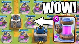 Clash Royale   ELIXIR COLLECTOR OVERRIDE!!! THERE ARE TO MANY!?!
