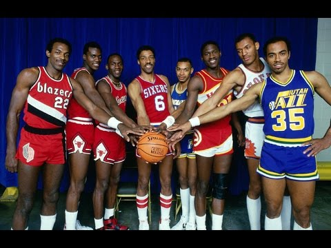 1985 NBA Slam Dunk Contest - Jordan, Wilkins, Erving, Drexler, Nance...