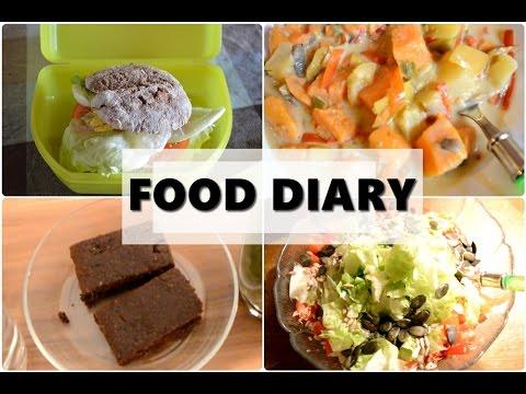 FOOD DIARY #1 Klausurenphase - 3 Tage - wenig Zeit zum Kochen - gesund
