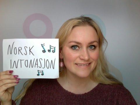 Lær norsk! A1-C1: Norsk intonasjon, melodi i det norske språket.
