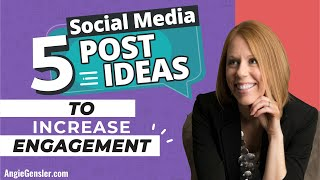 5 Social Media Post Ideas to Increase Engagement (And Stand Out in the News Feed!)