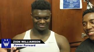 Yale: Zion Williamson