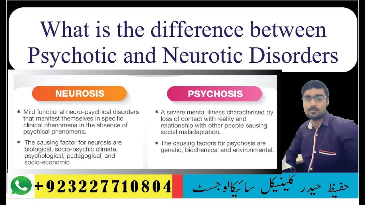 Difference Between Neurosis and Psychosis - Vedantu