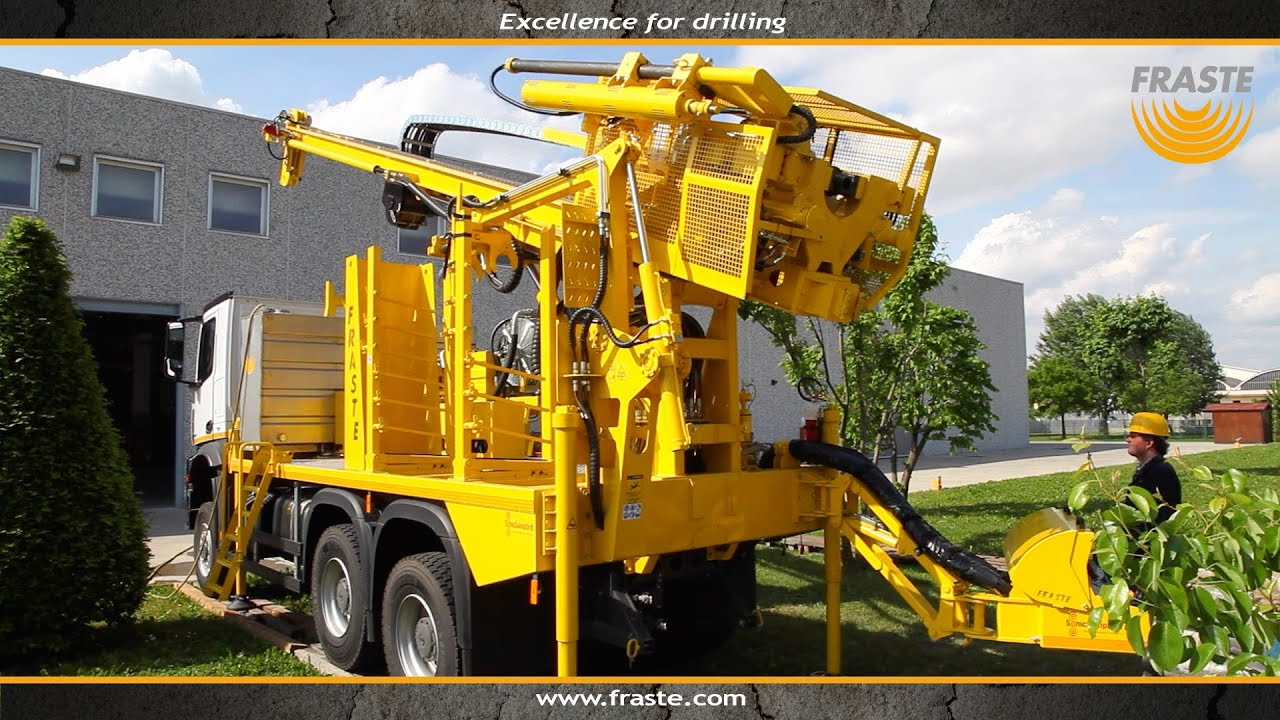 Drilling machine Fraste MULTIDRILL XL MAX Drilling rig - with Sonic  Technology