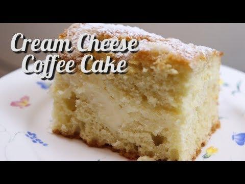 Cream Cheese Coffee Cake / Easy Cream Cheese Coffee Cake Recipe