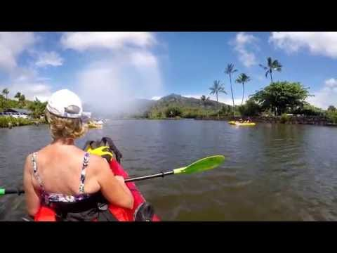Kauai Wailau River Kayak and Hike July 2016