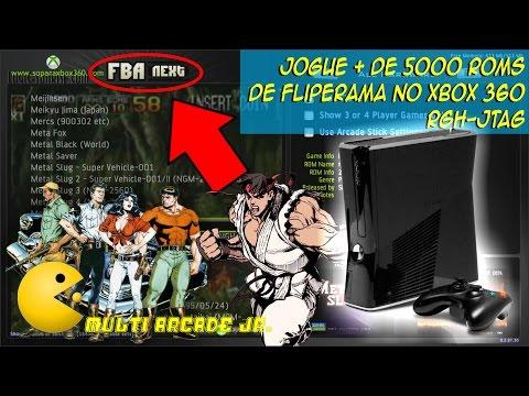 Jogue mais de 5000 ROMS de Fliperama no Xbox 360 RGH Jtag
