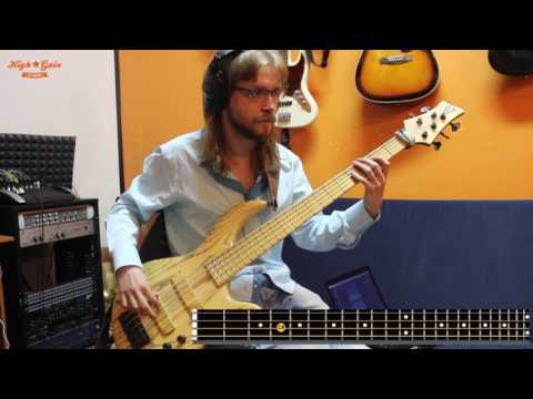 Bass tutorial how to play Offspring - The kids aren't alright (Rocknmob Piter)