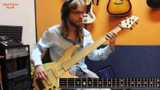 Bass tutorial how to play Offspring - The kids aren't alright (Rock...