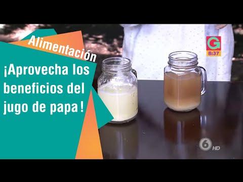 El jugo de papa, una forma diferente de aprovechar este alimento