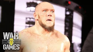 Lars Sullivan makes his intimidating ring entrance: NXT TakeOver: WarGames (WWE Network Exclusive)
