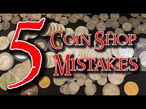 5 Mistakes Silver Stackers Make at the Coin Shop