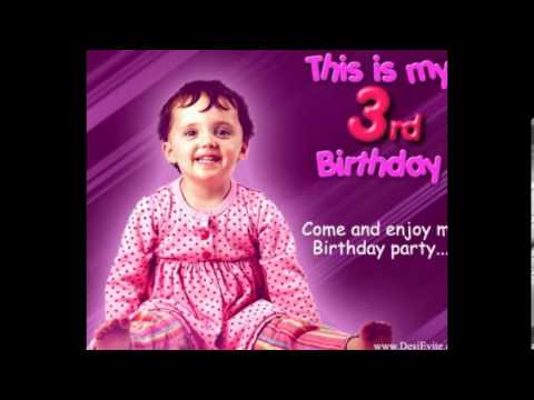 3rd Birthday Ecardsimageswishesgreting Cardecardecards For