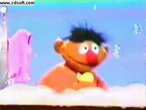 Vintage Sesame Street-Rubber Ducky (Ernie)