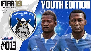 Fifa 19 Career Mode  - Youth Edition - Oldham Athletic - Season 1 EP 13