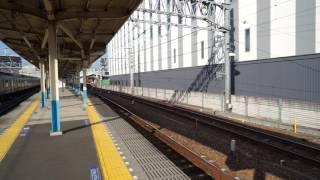 東武鉄道100系 「粋」編成 曳舟通過