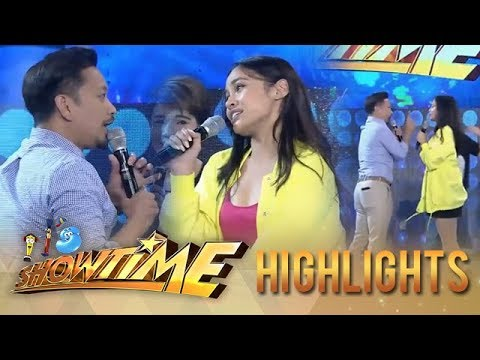 It's Showtime: Jhong loses to Girltrend Jessica in Beklaban