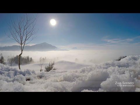 Winter Day Walchwil, Zug SWITZERLAND  ツーク