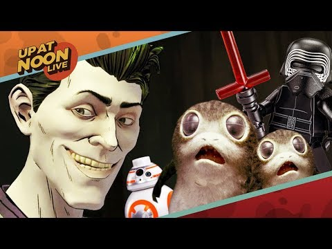 Up At Noon - Telltale Batman's Joker, The Last Jedi's Porgs & House Party - Up At Noon Live!