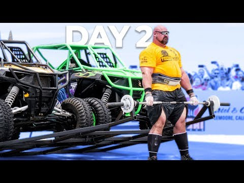 DAY 2 | WORLD'S STRONGEST MAN | EDDIE HALL