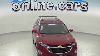 oA97400DT Used 2018 Chevrolet Equinox Red SUV Test Drive, Review, For Sale