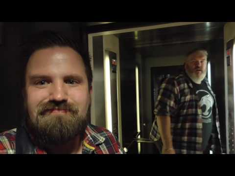 This is what happens when you ask Hodor to 'hold the door' IRL