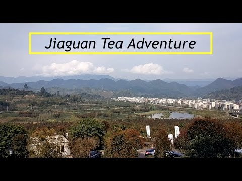 Tea and Ancient Village Adventure in Jiaguan, Qionglai, Sichuan!